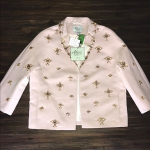Kate Spade Madison Ave Embellished Jacket